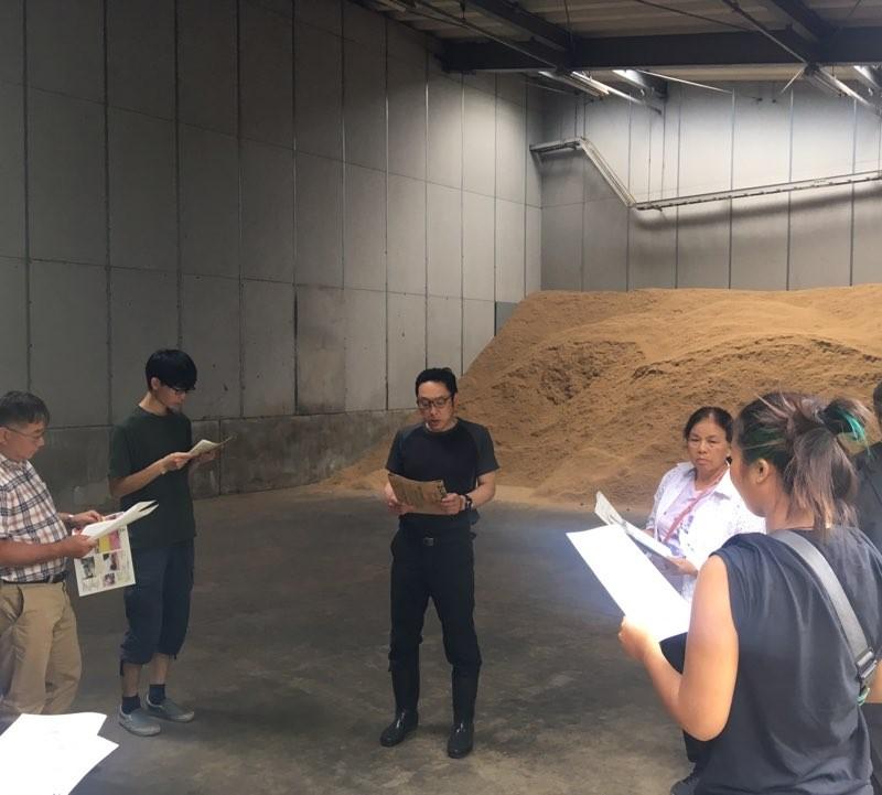 堆肥作り工場견학